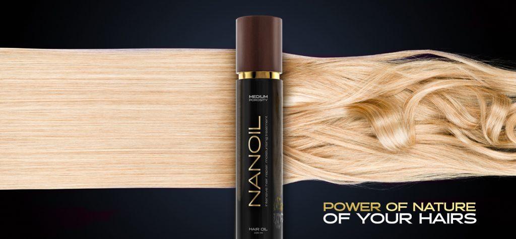 Oli per capelli ideali per chiunque Nanoil